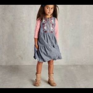 Tea Collection Antonella Girls embroidered dress